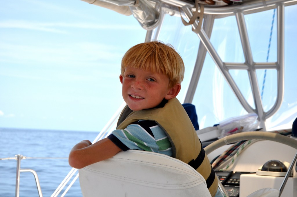 Porter in the captain's seat on Anything Goes