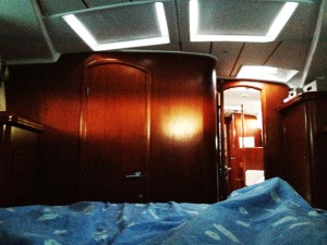 waking up on a boat...